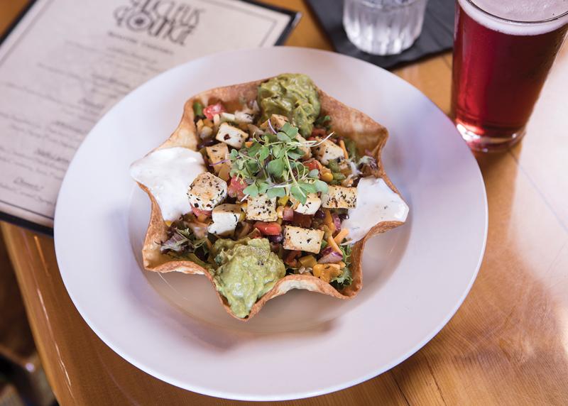 Chipotle Tofu Salad