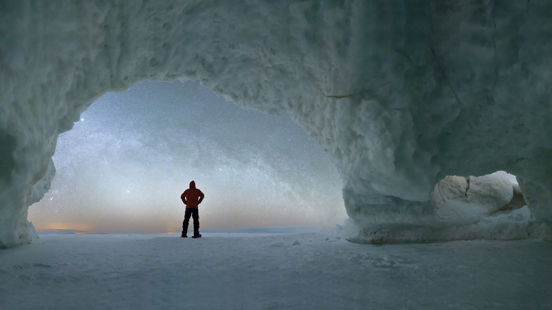 Nature's ice sculptures