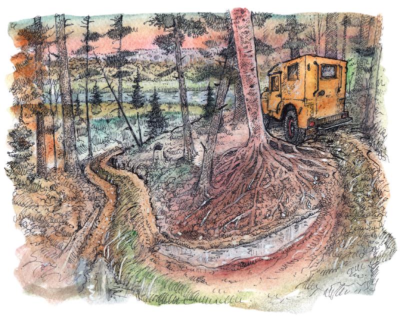 Two-Tracks illustration