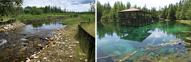 Otsego Lake and Kitch-iti-kip