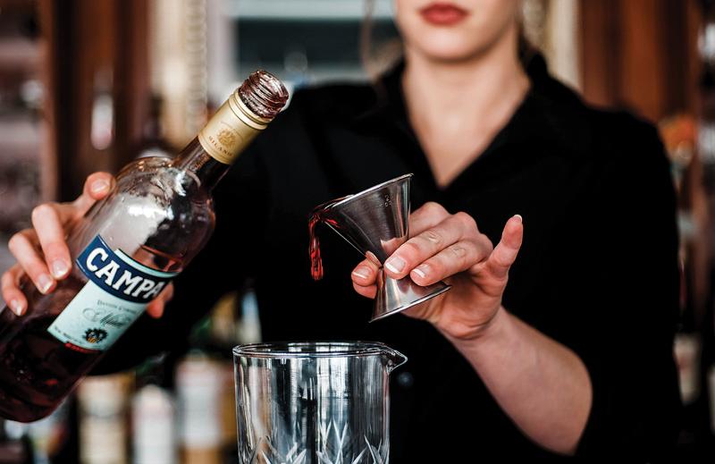 Table 14 bartender