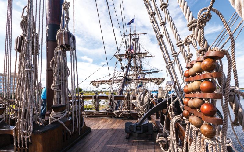 El Galeon deck
