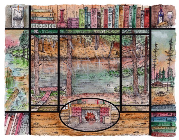 Jack Pine - Illustrated by Glenn Wolff