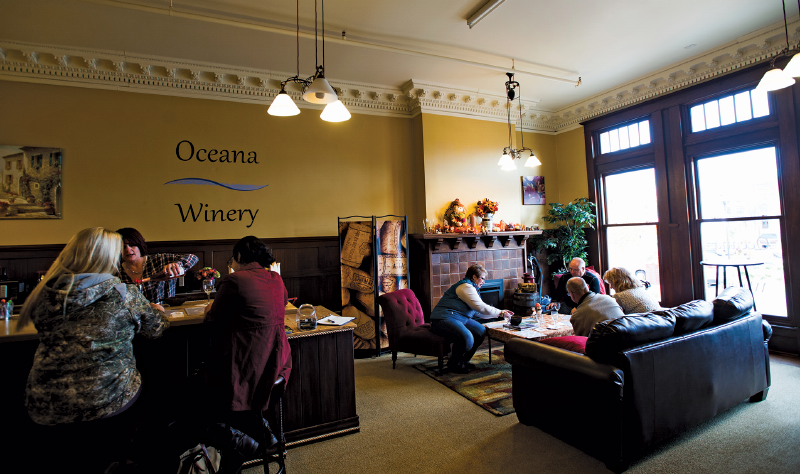 Oceana Winery interior