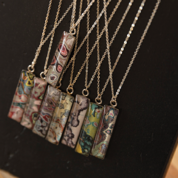Graffiti remnant jewelry