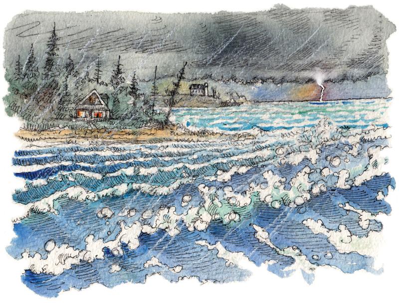 Sandblasted - Storm Cottage