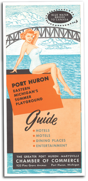 Port Huron - Vintage Slogan