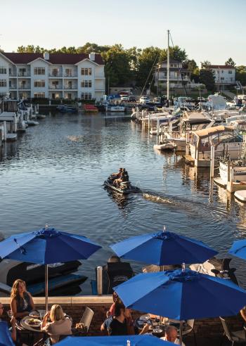 Bentwood Tavern waterfront