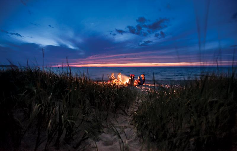 Beach Traditions: This Lake Michigan beach
