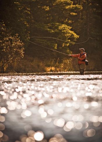 Escanaba River fishing