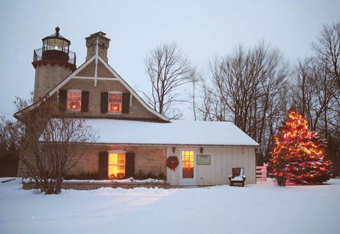 McGulpin Lighthouse Christmas Lights