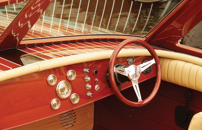Super Sport interior