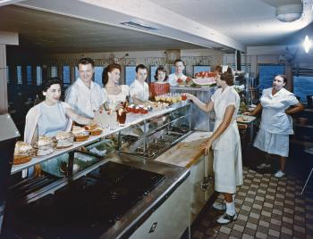 Milwaukee Clipper cafeteria