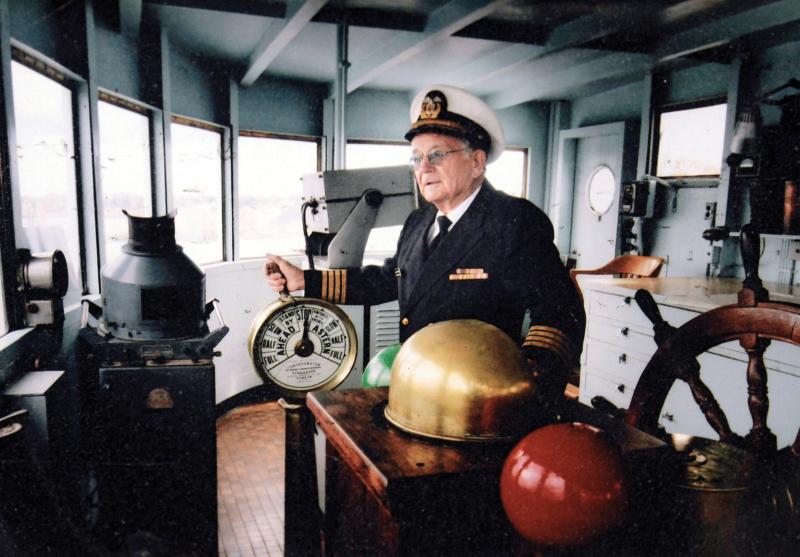 Captain Bob Priefer