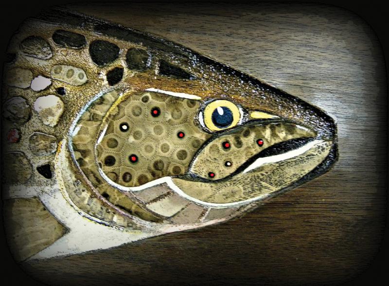 Petoskey Stone Fish