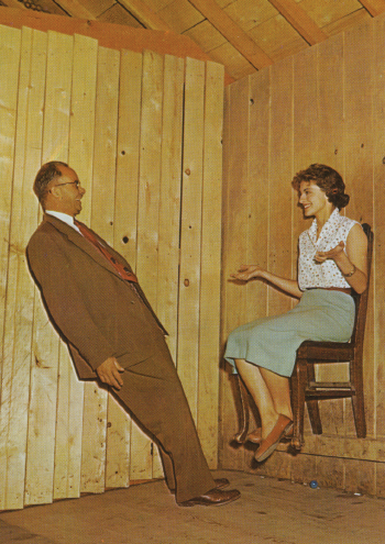 Mystery Spot - Chair Wall