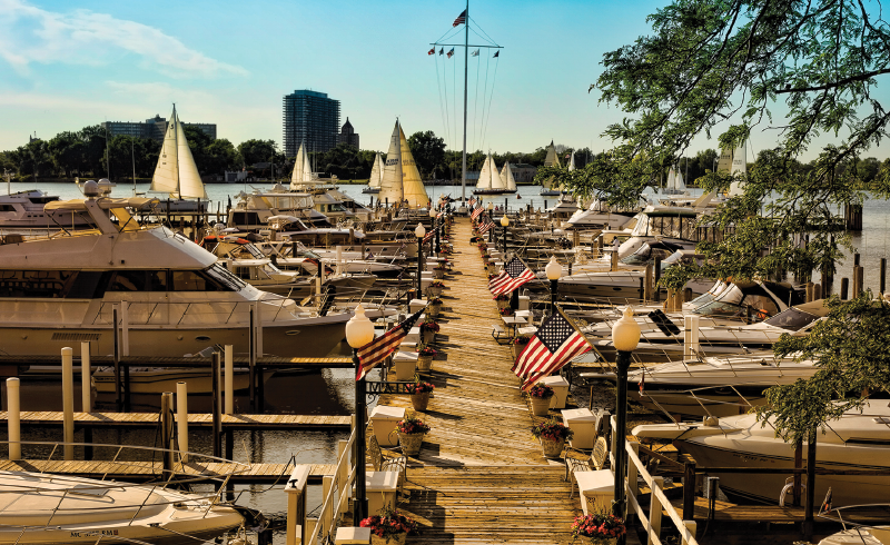 Main Dock, Detroit Yacht Club