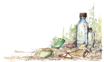 Uncovering Yesterday - Bottle