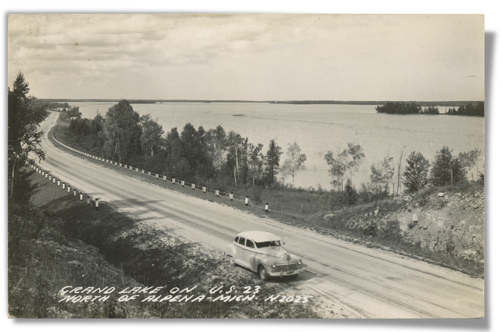 Postcard of Highway Scenic Drive