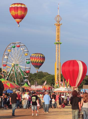 Battle Creek Field of Flight Air Show & Balloon Festival