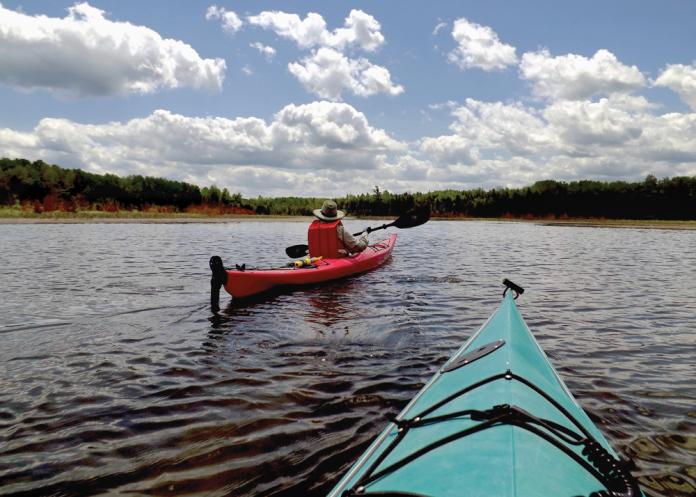 Kayaking Besser Natural Area