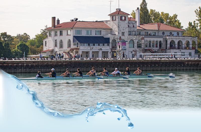 Detroit Boat Club rowers