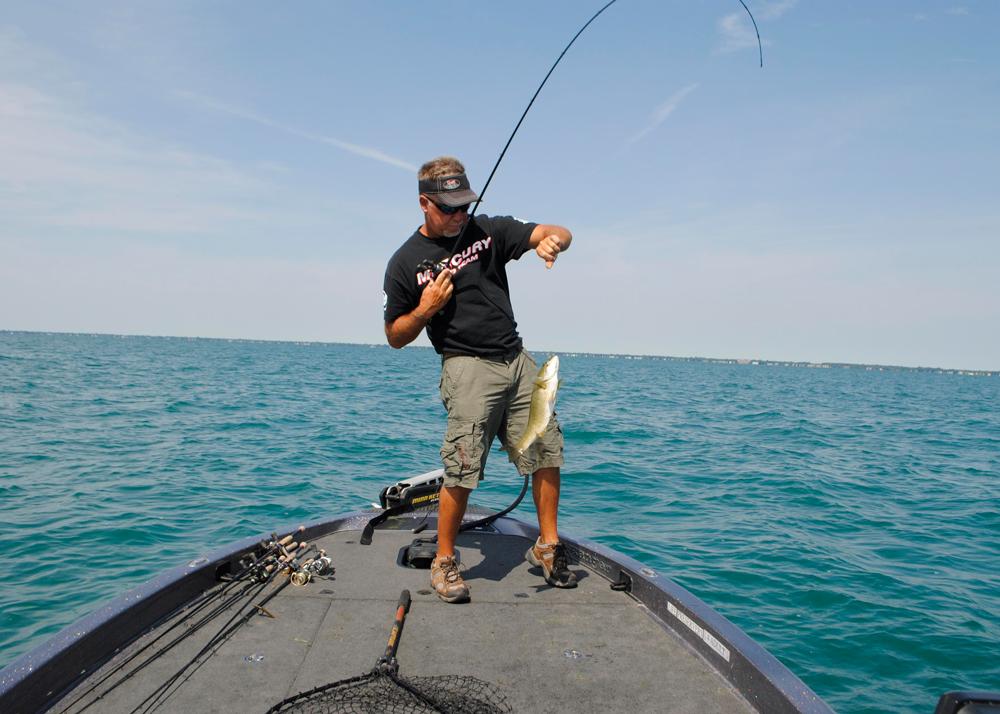 Hooked On Bass Michigan Blue Magazine
