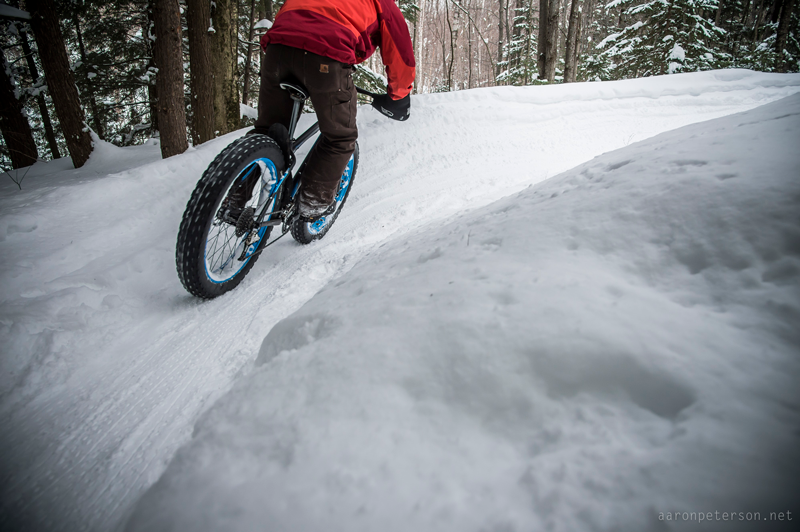 Aaron Peterson cyclist photographer