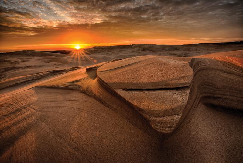 """""""Michigan Lake Sunrise, Silver Lake Dunes"""""""