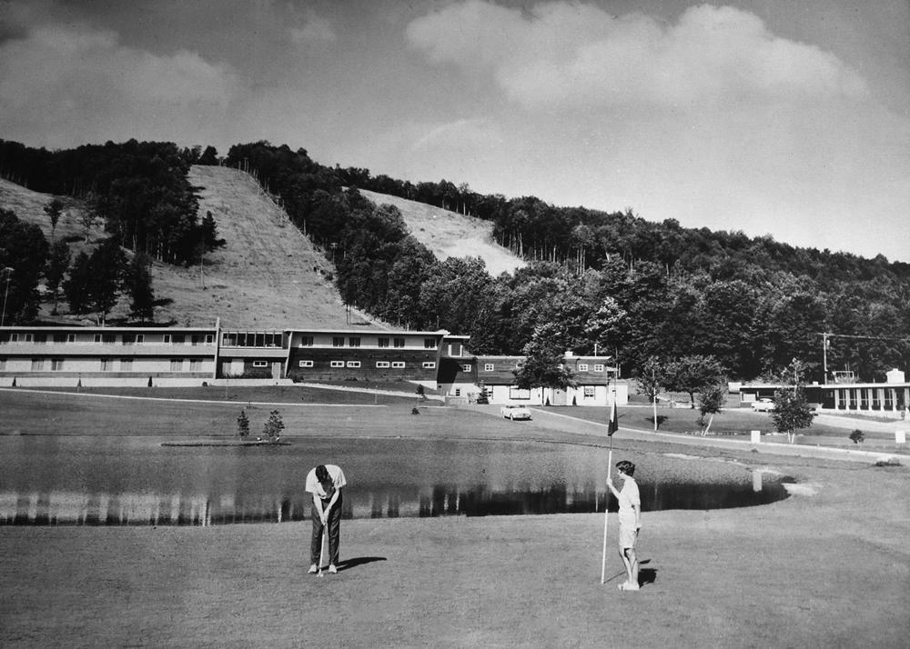 Boyne Original Par 3 Course built in 50's