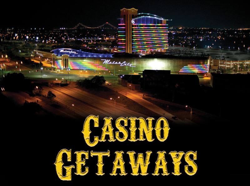 Motor City Casino - Aerial Night