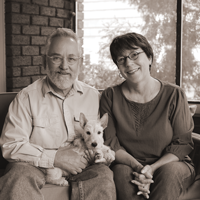 Christine Byron and Tom Wilson