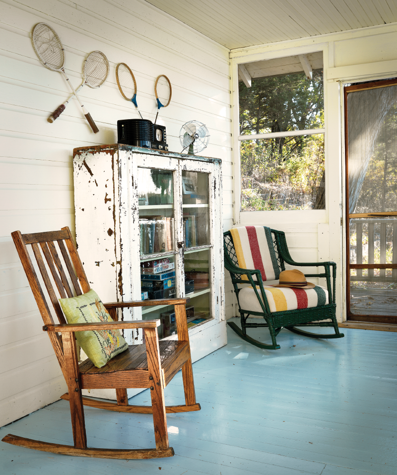 Charming front porch