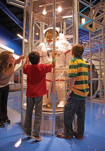 Space Suit Exhibit