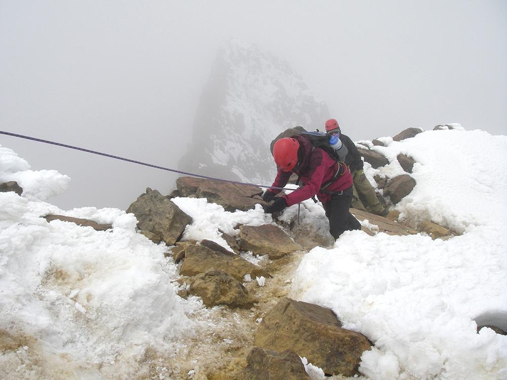 E. Shaw Andes Mountain 2010