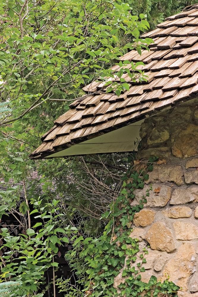 Earl Young Mushroom Roof