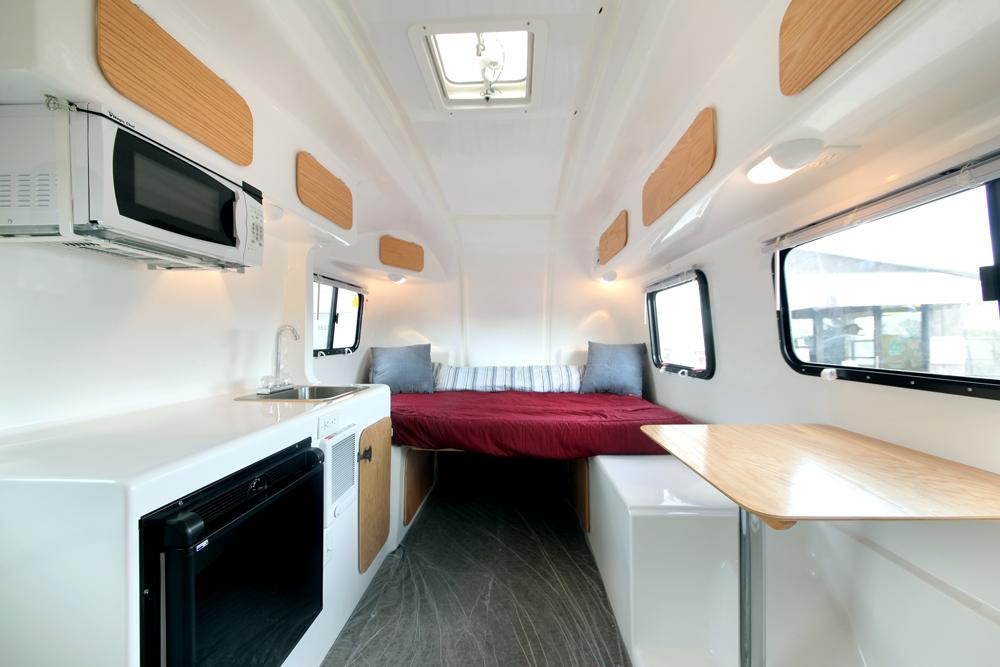Egg Camper Interior