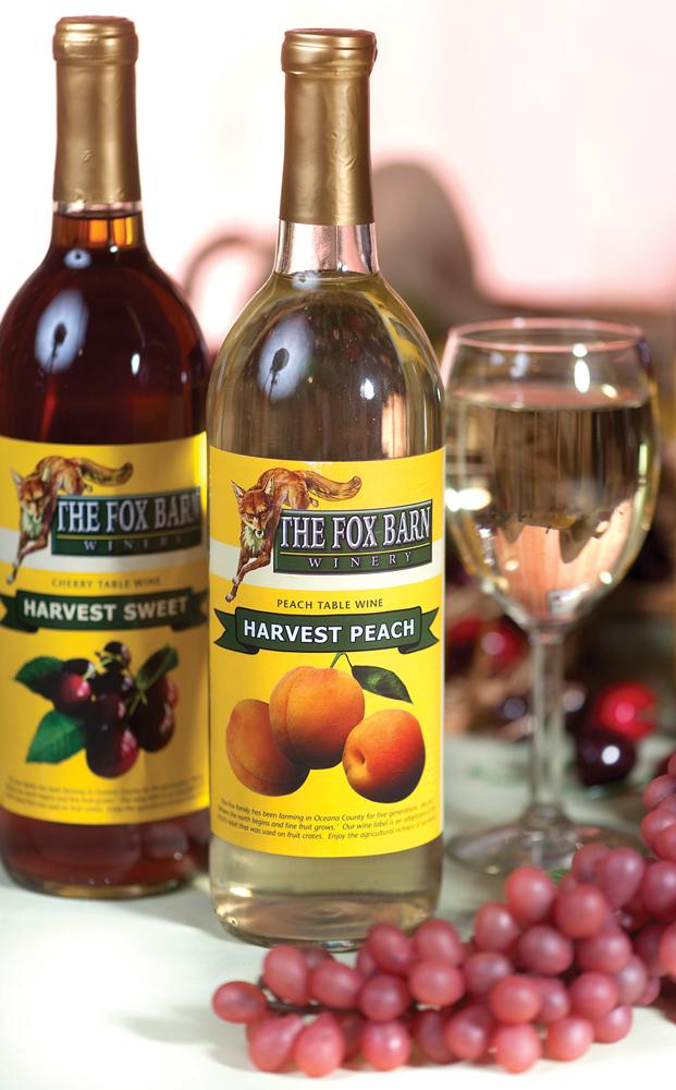 Harvest Peach Table Wine from The Fox Barn
