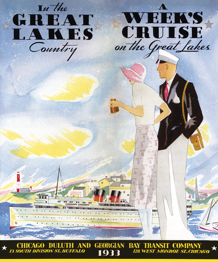 Great Lakes Cruises Cover 1939