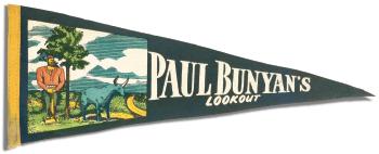 Paul Bunyan pennant