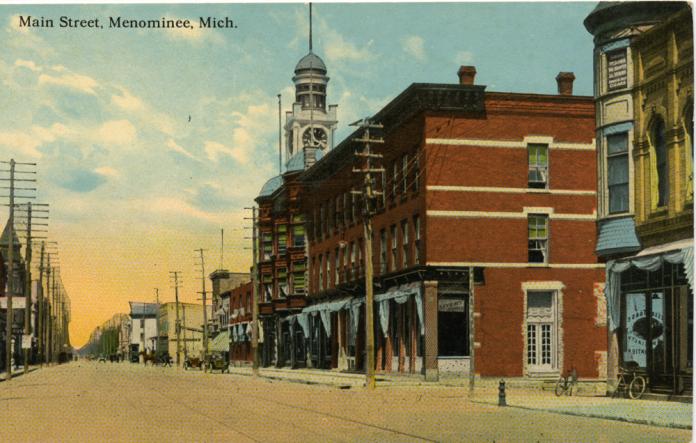 Menominee Historical Postcards