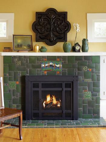 Motawi Tile - Fireplace