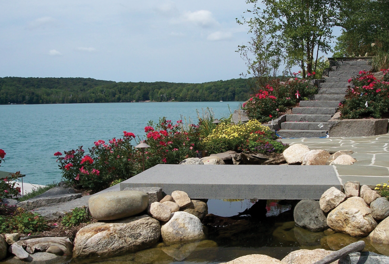 Walled Lake outdoor spa