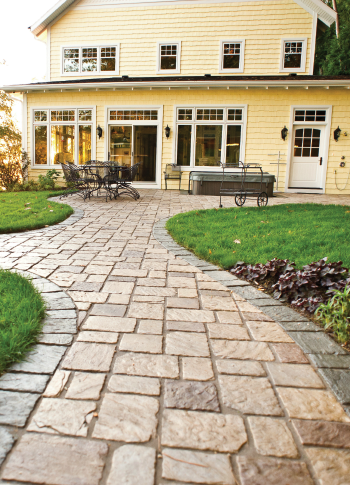 """""""Old Mission"""" pavers"""