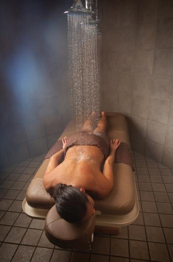 Vichy shower rinse