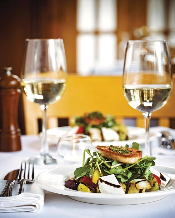Riverside Inn dinner paired with wine