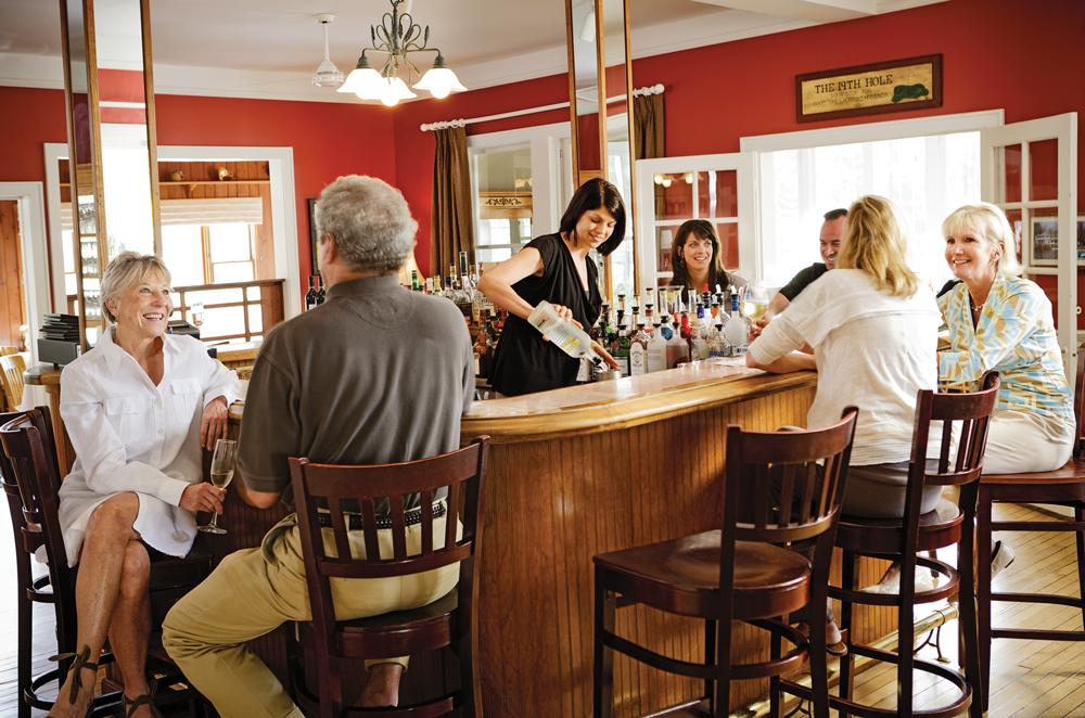 Riverside Inn bar