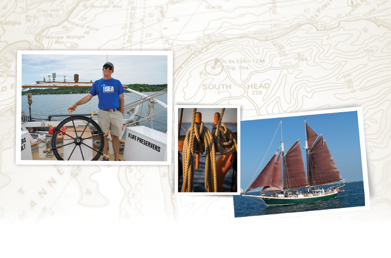 Sailing the Inland Seas photo collage