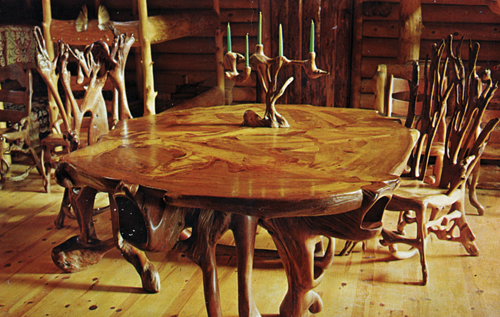Shrine of the Pines Dining Table