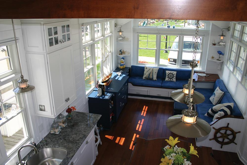 Small Cottage interior